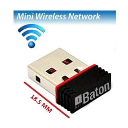 iBall Baton 150M Wireless-N Mini USB Adapter (iB-WUA 150NM)