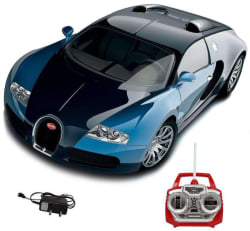Saffire Remote Control Rechargeable Bugatti Veyron Car, red