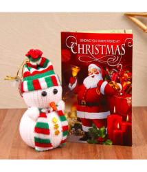 Giftacrossindia Plastic Christmas Hampers Multicolour