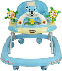 Panda Goyal s Baby Musical Walker - Blue 1 Pcs