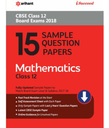 15 Sample Question Papers Mathematics Class 12th CBSE