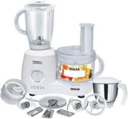 Inalsa Fiesta Lx 650 W Food Processor (White)