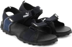 Puma Men black-blue Sports Sandals