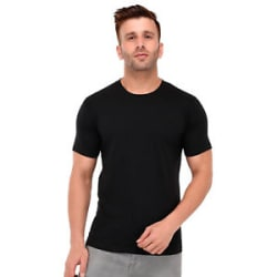 Wild Thunder Men Plain T Shirt - Solid Colour Half Sleeve Round Neck T Shirt