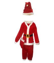 Kaku Fancy Dresses Santa Clause fancy dress for kids,Christmas day Costume for Annual function/Theme Party/Competition/Stage Shows/Birthday Party Dress