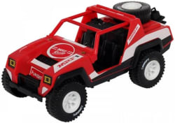 Funskool MRF Racing Jeep(Red, Black, White)