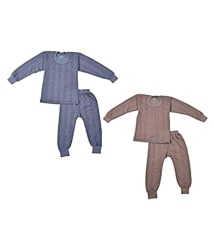 Focil Combo of Blue & Brown Thermal For Baby Kids