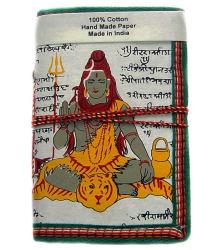 Rastogi Handicrafts Handmade Paper Diary White Shiva