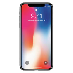 Apple iPhone X (Space Grey, 64 GB)