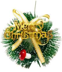 Priyankish Plastic Multicolour Christmas Tree Decoration-(Pack of 1)