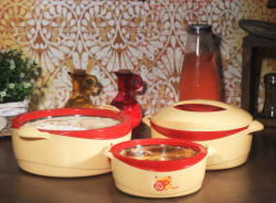 Milton Desire Gift Set Pack of 3 Thermoware Casserole Set 500 ml, 1000 ml, 1500 ml