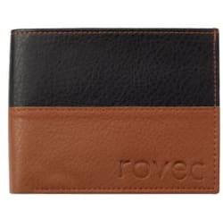 ROVEC CHOCO BLACK casual Wallet For Men