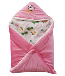 My Newborn Multi-Colour Fleece ( 1 pcs) Bedding Sets