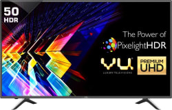 Vu Pixelight 127cm (50 inch) Ultra HD (4K) LED Smart TV LEDN50K310X3D Ver: 2017