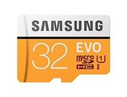 Samsung EVO 32 GB MicroSD Card Class 10 95 MB/s (With Adapter) PACK OF 2