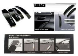 Black Plastic Car Door Guard