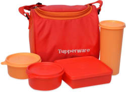 Tupperware Best 4 Containers Lunch Box (1000 ml)