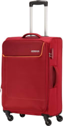 American Tourister Jamaica Expandable Check-in Luggage - 22 inch (Red)