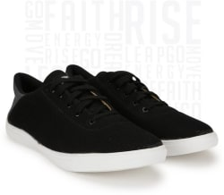 Metronaut Canvas Shoes For Men (Black)