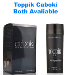Newly Arrived Cabokiii Hair Fibers 25 Gms - Top Rated Seller BLACK. Toppik 27.5g