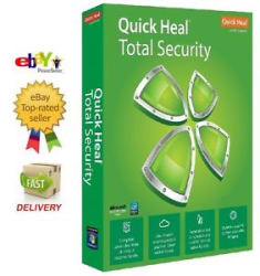 Quick Heal Total Security Latest Antivirus 1 User ( 1 PC ) 3 Year (Key+Copy CD)