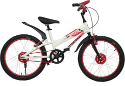 Hercules Roadeo Wild Kat 20 T Single Speed Recreation Cycle (White, Pink)