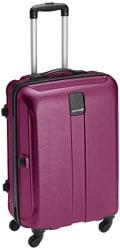 Safari Thorium Polycarbonate 66 cms Purple Hardsided Suitcase (Thorium-Stubble-Magenta-Purple-65-4WH)