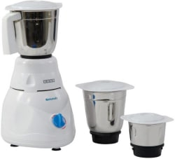 Usha MG 2853 Smash 500 W Mixer Grinder (White, 3 Jars)
