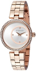 Giordano Analog Silver Dial Women s Watch-A2056-33