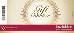 Joyalukkas Gold & Diamond Jewellery Gift Voucher