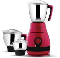 Butterfly pebble candy p 600 W Mixer Grinder (Pink, 3 Jars)