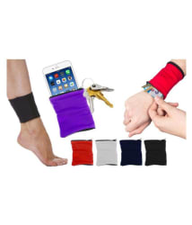 Kudos Enterprise Wristband with Zipper Wrist Wallet For Camping Cycling Outdoor Training