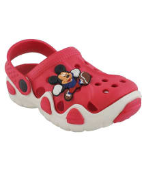 Pollo Red Clogs for Kids