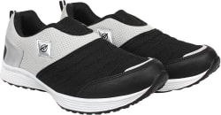 Aero Aspire Running Shoes For Men (Black, Grey)