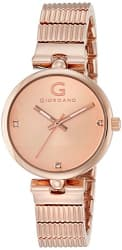 Giordano Analog Rose Gold Dial Women s Watch - A2058-44