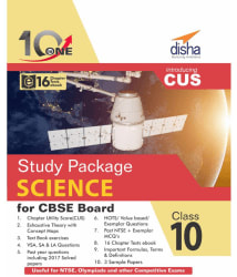 10 in One Study Package for CBSE Science Class 10 with 3 Sample Papers & 16 Chapter Tests ebook