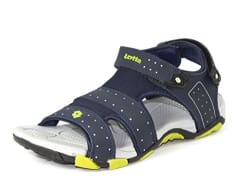 Lotto Men s Navy Grey Sandals and Floaters