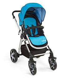 LuvLap Baby Stroller Pram Premier Blue