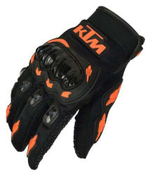 KTM Moto Biker Black Hand Gloves for Riding - Pair of 1
