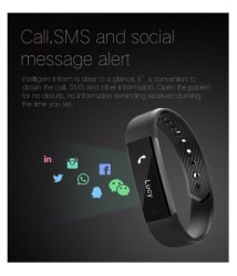 Enhance ID 115 Fitness Band