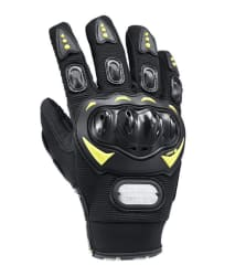Zoook_Moto69 Premium Pro Biker Gloves (Professional Biker Gloves)(Standard Size : 10-11 Inches)