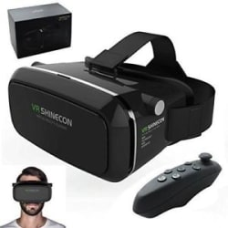 100% Original Shinecon VR Virtual Reality 3D Glasses /Bluetooth VR Remote