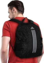 Adidas Branded Backpack Laptop bags college bags School bags Black (28 Litres)