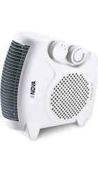 Nova NH 1257 All In One Blower Silent Fan Room Heater (White)