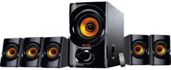 Flow Golden Boy 5.1 Speaker System, black