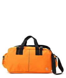 WalletsNBags Orange Solid GYM Bag