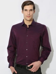 Van Heusen Men s Solid Casual Shirt