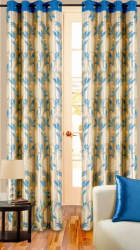 Cortina Premium 7Ft Curtain, green