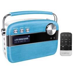 Saregama Carvaan Portable Digital Music Player (Blue)