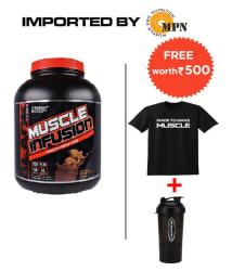 Nutrex Research 5lb chocolate peanut butter free shaker & t-shirt 5 lb